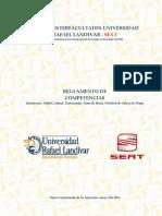 Reglamento Interfacultades 2011