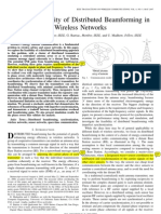 2007 05 on the feasibility of distributed beamforming in wireless networks