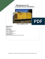 Atlas Copco QAS250 Generator a