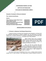 Introdução a Ciência do Ambiente - Terremoto