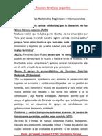 Resumen de Noticias Vesper Ti No 12-09-2011