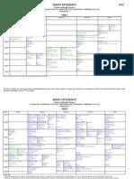 Sem2 Timetable