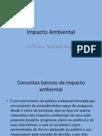 Avaliação de Impacto Ambiental -1ª aula