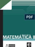 Matemática II - Mónica Bocco
