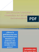 Situacion Social y Pobreza en El Mundo Globalizado