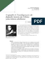 O quadro A Transfiguração de Rafaello Sanzio da Urbino - uma leitura abelliana