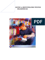 APOSTILA - LÓGICA E GRAMÁTICA DESVENDANDO OS TEXTOS FILOSÓFICOS