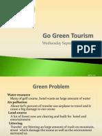Go Green Tourism