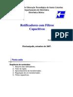 14130249 CEFET SC Retificadores Com Filtros Capacitivos