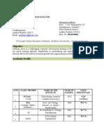 Ananth -M.tech. Resume