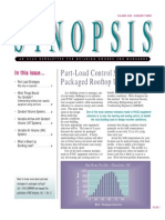 Part Load Control Strategies for Package Rooftop Units