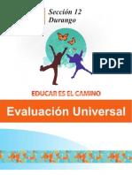FOLLETO Evaluacion Universal