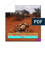 Land and Its Resources 01