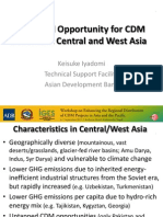 Sectoral Opportunities in Central and West Asia