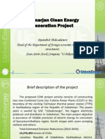 CASAREM Talimarjan Power Generation and Transmission Project