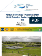 Kinoya Sewerage Treatment Plant Project