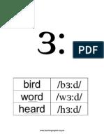 Phoneme 3 Long
