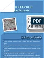 Role of Dental Assistants