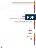 Estudio Sobre Bullying, Ciberbullying y Violencia Escolar