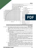 1993 Biology Paper I Marking Scheme