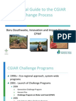 A survival guide to the CGIAR change process