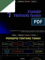 ADPER1 Konsep Tentang Tanah