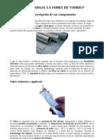 Cómo se trabaja la fibra de vidrio