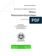 2011-Buku Pegangan Mahasiswa Modul Pendidikan Kedokteran