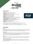 DrumIt Five OS 1.20