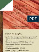 Trauma Musculoesqueletico