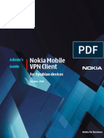 Nokia Mobile VPN Administrators Guide