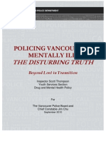 Policing Vancouver's Mentally Ill