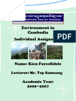 Environment in Cambodia the Whole