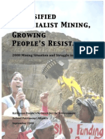 2008 Mining Situation and Struggle in the Philippines!