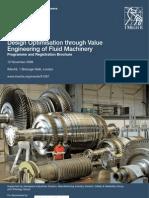 Design ion Through Value Engineering of Fluid Machinery