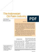 The Indonesian Oil Palm Industry