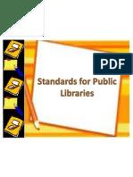 Public library standard