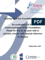 Literacy and the Foundation Phase an Evaluation of the Implementation of the Foundation Phase for Five to Six-year-olds in Primary Schools With Special Reference to Literacy