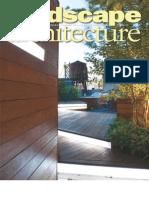 Landscape Architecture - July 2009