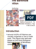 Philppine Banknote Recognition