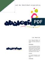 Manual de identidad corporativa - Abalorium