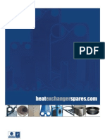 Heat Exchanger ID and Gasket Information