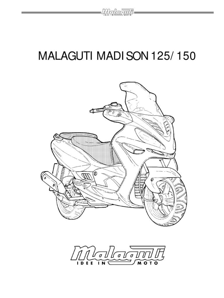 Malaguti Madison 125-150 Service Manual
