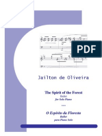The Spirit of the Forest for Piano