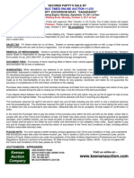 Terms & Conditions of Sale - Sagadahoc