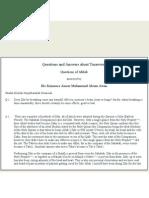 50 Questions and Answers About Tasawwuf ( English ) - By Ameer Maulana Akram Awan ( MZA)