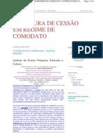 COMODATO DE CESSÃO DO PRÉDIO NA RUA DR FERNANDO873