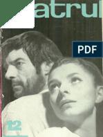 Revista Teatrul, nr. 12, anul XIII, decembrie 1968