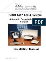 Orex ACL4 Installation Manual