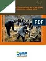 ACF 2007 Intervenciones de Transferencias Monetarias